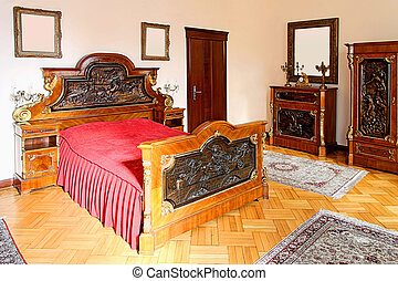 ovest selvaggio, camera letto