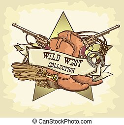 ovest selvaggio, etichetta