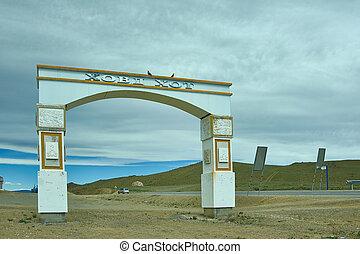ovoo, mongolian