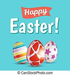 ovos, páscoa, feliz
