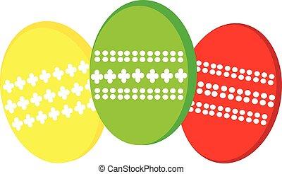 ovos, páscoa, fundo branco