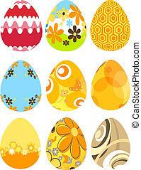 ovos, páscoa, retro