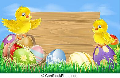 ovos, páscoa, sinal