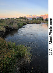 Owens River sunrise