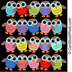 owl background