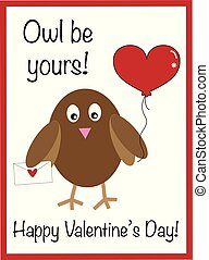 Owl Be Yours Valentine