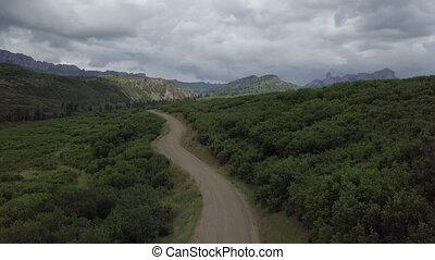 Owl Creek Pass Colorado - Owl Creek Pass towards Silver Jack...