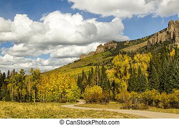 Owl Creek Pass in the Fall Season