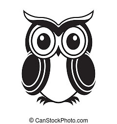 white owl illustrations and clipart 8 297 white owl royalty free rh canstockphoto com baby owl clipart black and white owl reading clipart black and white