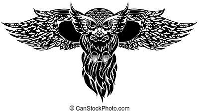 Owl - Bird symbol