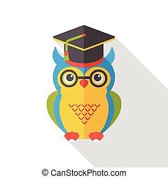 owl flat icon
