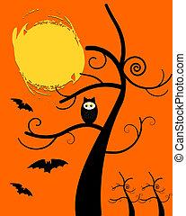 Owl Halloween