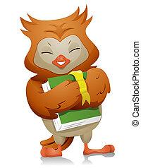Owl Hugging Book