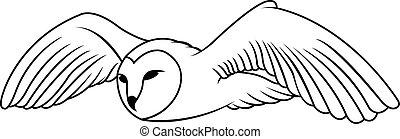 Owl Illustration design