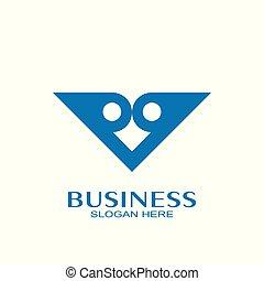 owl logo vector design.
