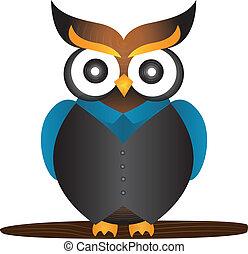 Owl mascot Vector Clipart Royalty Free. 1,642 Owl mascot ...