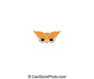 Owl vector icon