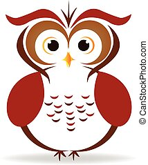 Owl vector logo