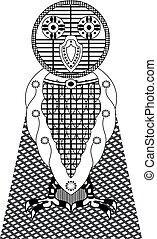 Owl Vector - Unique owl vector pattern design for textile,...