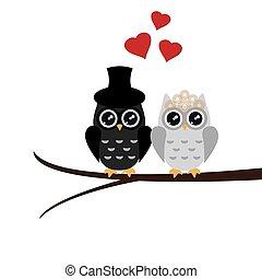 Owl Wedding