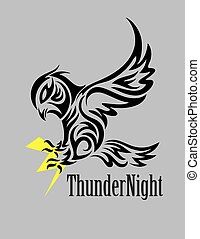 Owl with Thunder