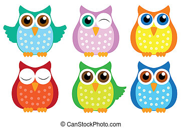 owls - owl-set