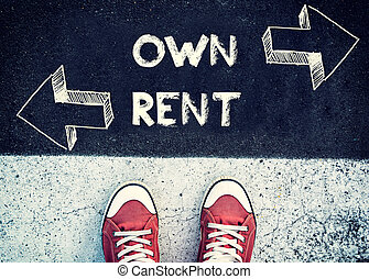 Own and rent