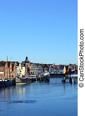 own Husum along the North Sea, Germany