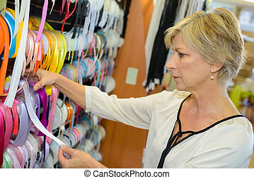 owner of a haberdashery store