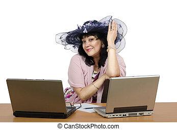 Owner of online dating agency - Portrait of owner online ...