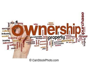 Ownership word cloud
