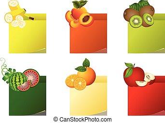 owoc, etykiety