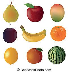 owoc, komplet