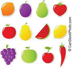 owoce, warzywa