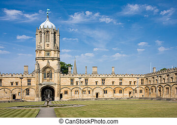 oxford, church's, universidad, cristo, tom, torre