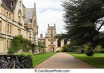 oxford, faculdade, trindade, reino unido