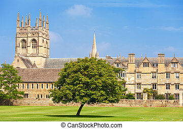 oxford, merton, uk, college.