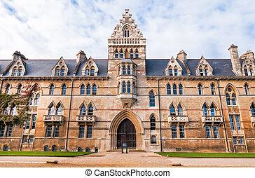 oxford university, cristo, iglesia