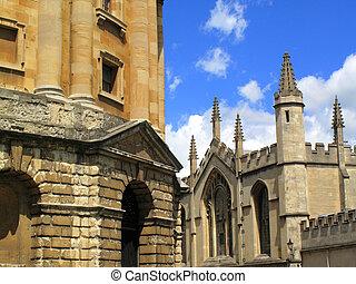 oxford university, edificios