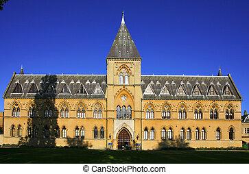 oxford university, natural, museo, historia