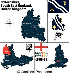 oxfordshire, est, angleterre, sud, royaume-uni