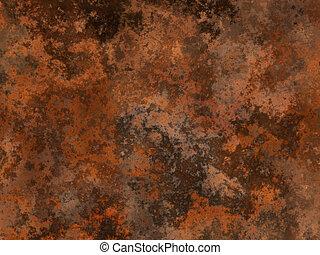 oxidación, metal