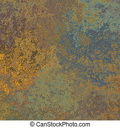 oxidación, metal, textura