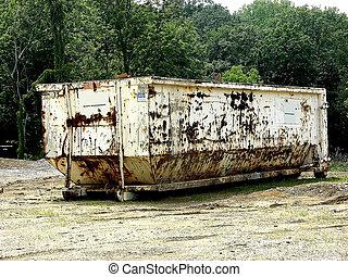 oxidado, dumpster