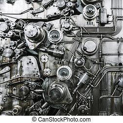oxidado, mecanismo