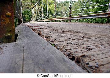 oxidado, puente