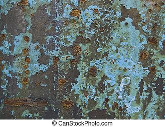oxidized, oppervlakte