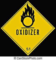 oxidizer, meldingsbord