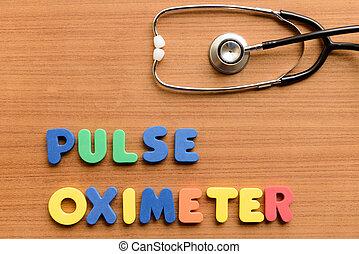 oximeter, pulso