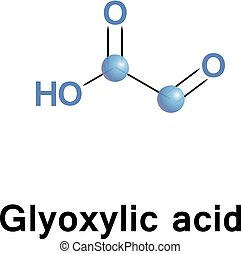 oxoacetic, sur, glyoxylic